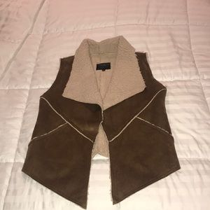 Jackets & Coats - Sanctuary Faux Fur And Suede Vest